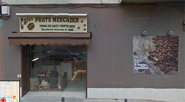 Exterior de Cafès Prats Mercader